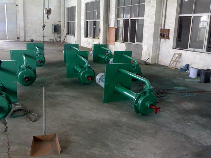 CYLJ搅拌长轴渣浆泵