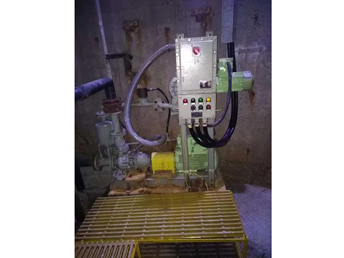 中石化普光气化厂硫磺车间强自吸泵