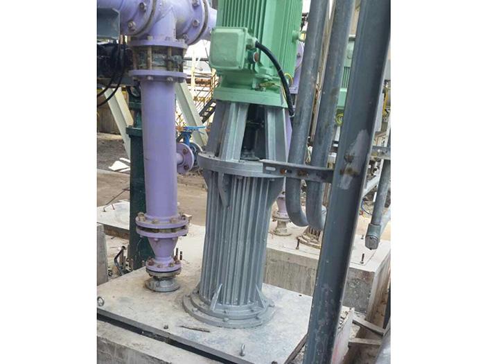 中石化上海金山石化烟气脱硫VS5 型立式长轴地坑泵