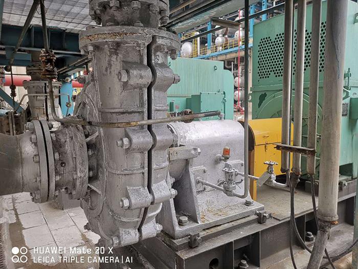 中石化长岭石化脱硫浆液泵